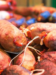 Wurst und Fleischwaren Nahaufnahme