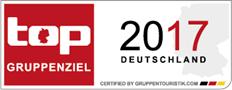 top Gruppenziel Deutschland 2017 Auszeichnung