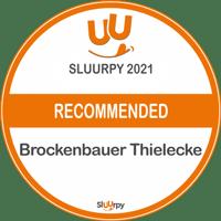 Sluurpy 2021 Recommended Auszeichnung Brockenbauer Thielecke