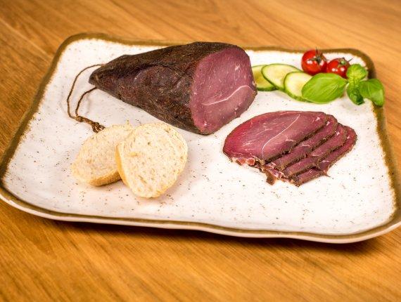 Rinderschinken mit Meersalz auf Pielers.de erhältlich